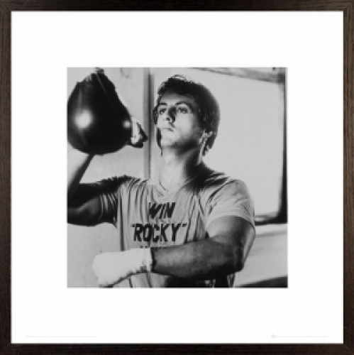 Details about ROCKY - FRAMED MOVIE POSTER / ART PRINT (PUNCHING BAG)