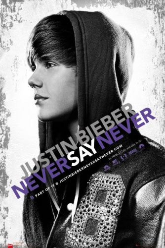 justin bieber never say never movie wallpaper. JUSTIN BIEBER - MOVIE POSTER
