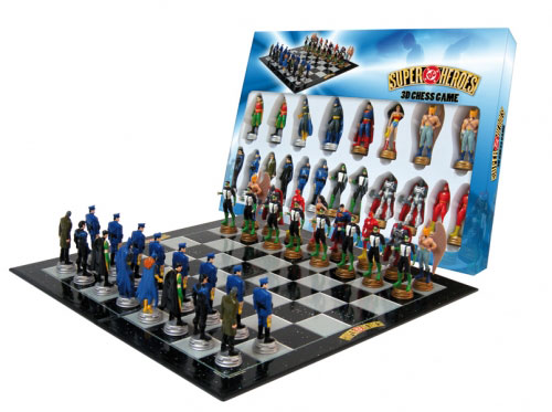 supermanand batman play chess - photo #29
