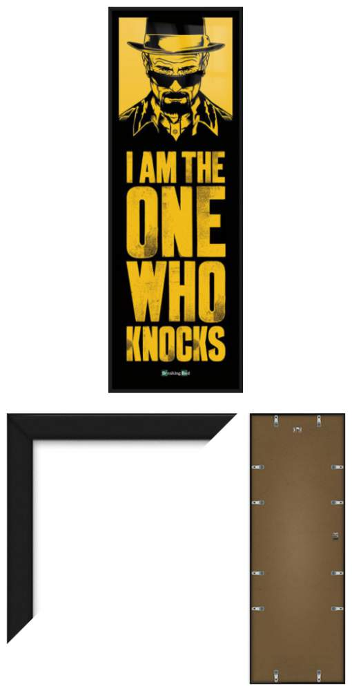 Breaking Bad Framed Door Poster Print I Am The One