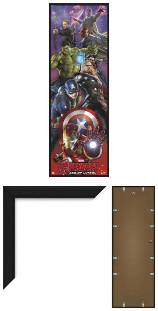 AVENGERS 2: AGE OF ULTRON - FRAMED DOOR POSTER / PRINT (CAST) (SIZE ...