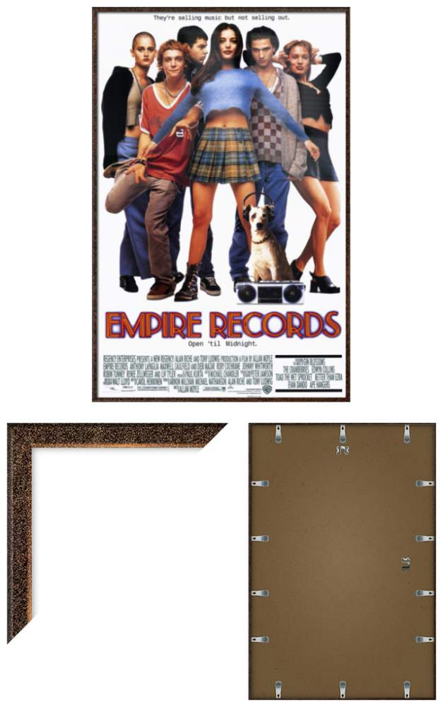 EMPIRE RECORDS - FRAMED MOVIE POSTER / PRINT (REGULAR STYLE) | eBay