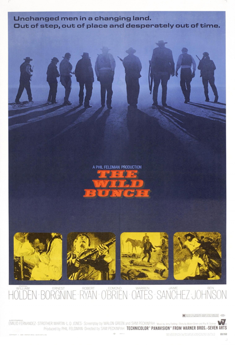 Framed The Wild Bunch