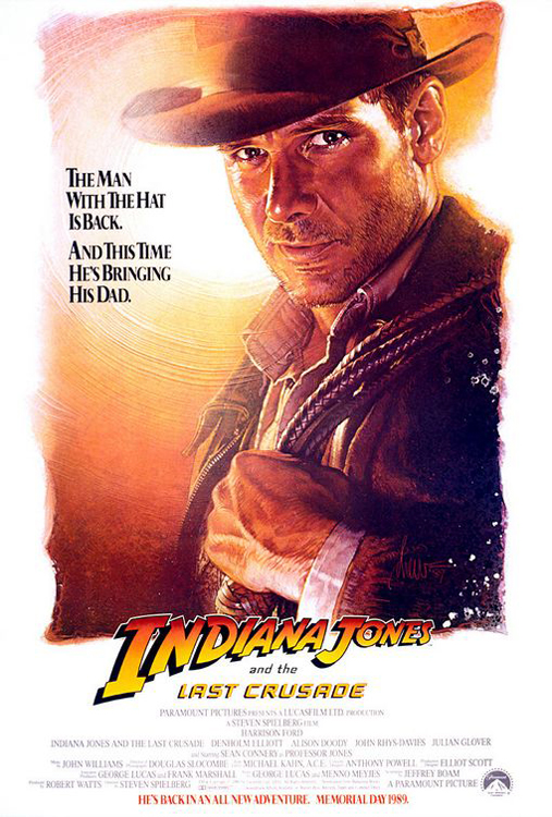 Framed Indiana Jones and the Last Crusade