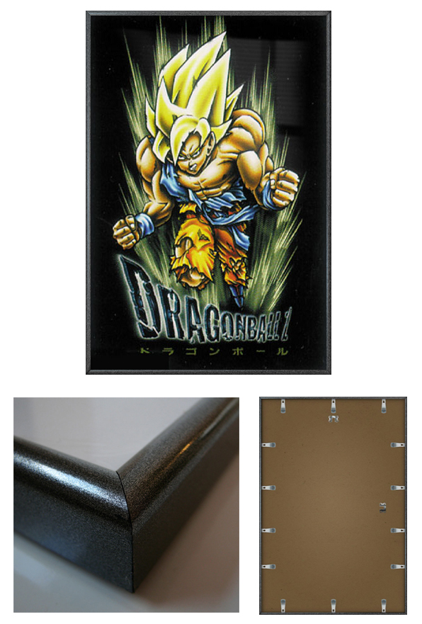 dragonball z framed poster print size 24 x 36 ebay. Black Bedroom Furniture Sets. Home Design Ideas