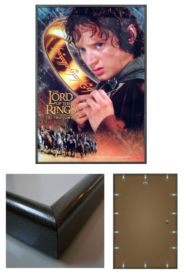 The Lord Of The Rings Two Towers Framed Movie Poster