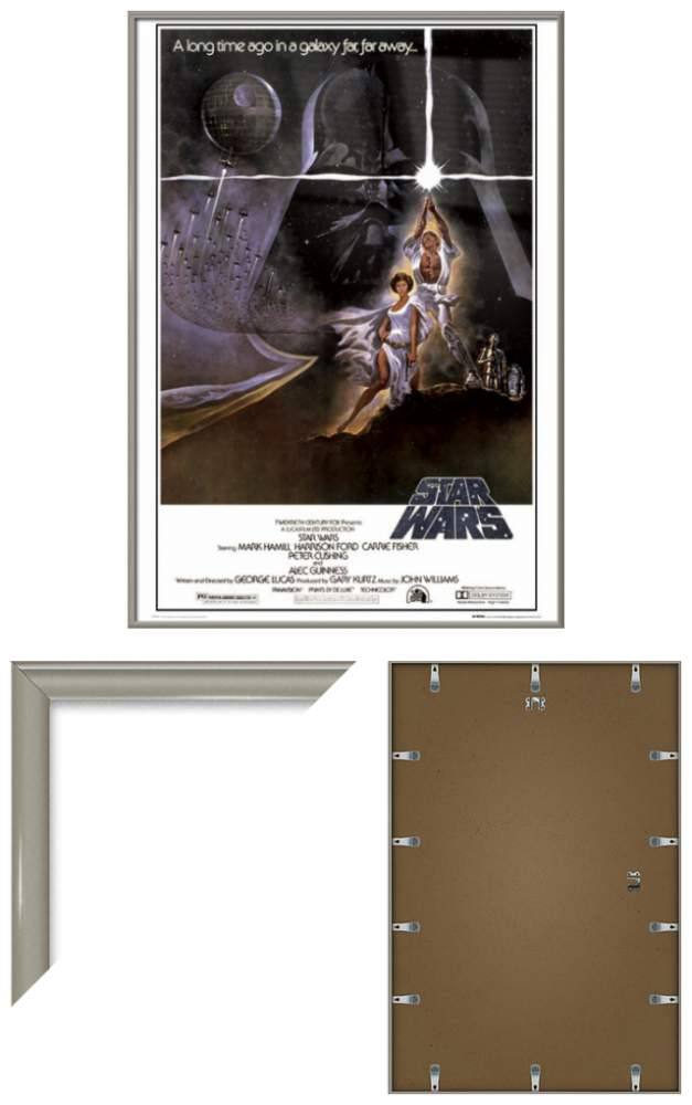 STAR WARS EPISODE IV - A NEW HOPE - FRAMED MOVIE POSTER (STYLE A ...