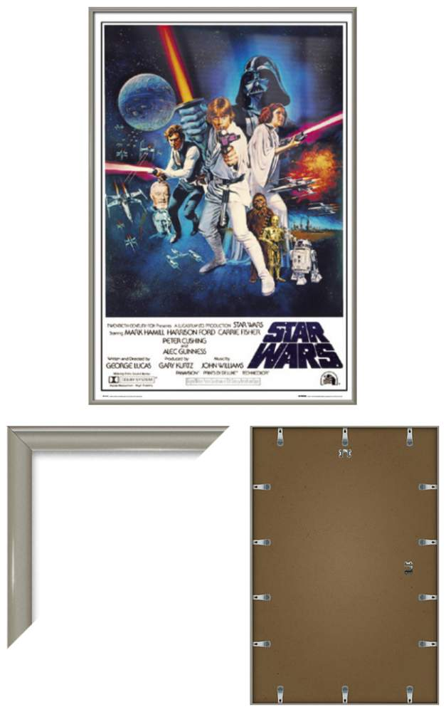 STAR WARS EPISODE IV - A NEW HOPE - FRAMED MOVIE POSTER (STYLE C ...