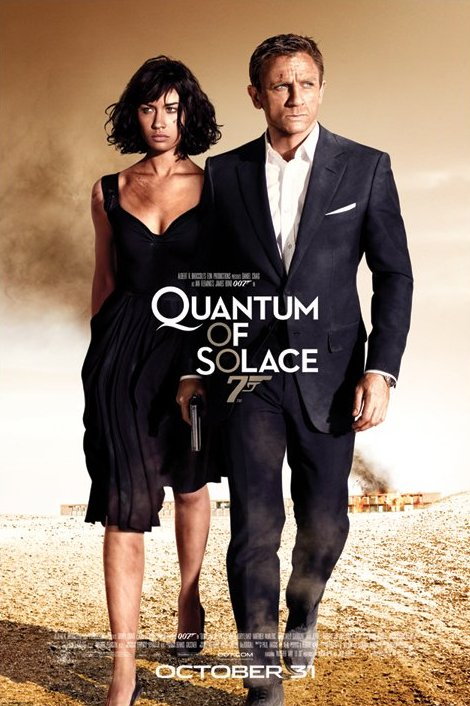 Framed Quantum of Solace