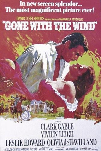 Framed Gone with the Wind