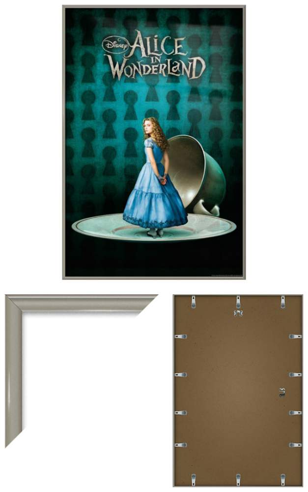 ALICE IN WONDERLAND - FRAMED MOVIE POSTER / PRINT (ALICE COFFEE CUP ...