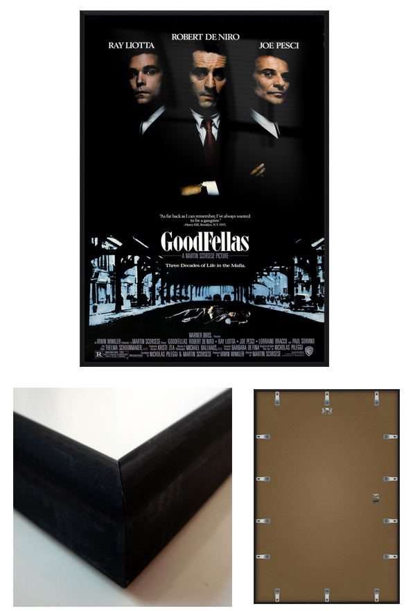 Framing movie posters