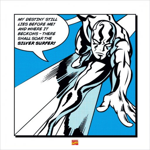 Framed Silver Surfer