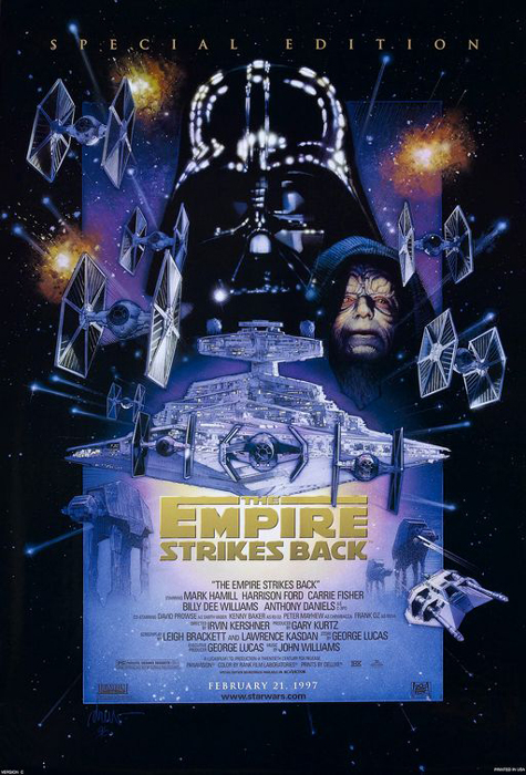 Framed Star Wars: Episode V - The Empire Strikes Back