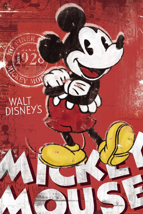MICKEY MOUSE - TV SHOW POSTER / PRINT (VINTAGE RETRO ...