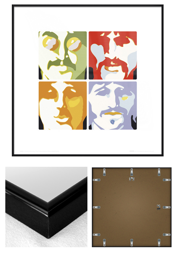 THE BEATLES - FRAMED ART PRINT / POSTER (SEA OF SCIENCE) (SIZE: 16 ...