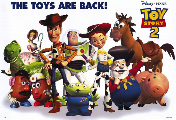Framed Toy Story 2