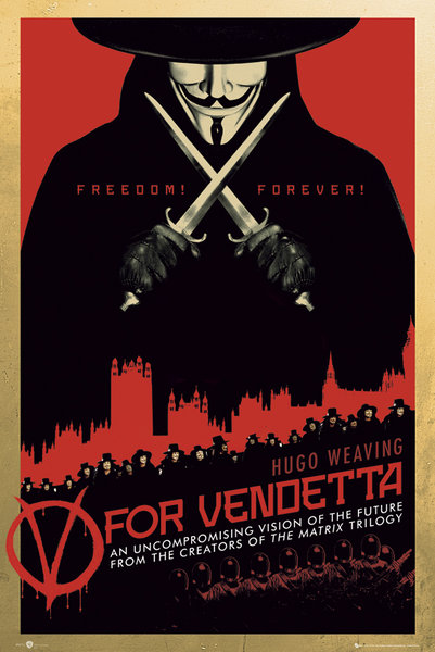 Framed V for Vendetta