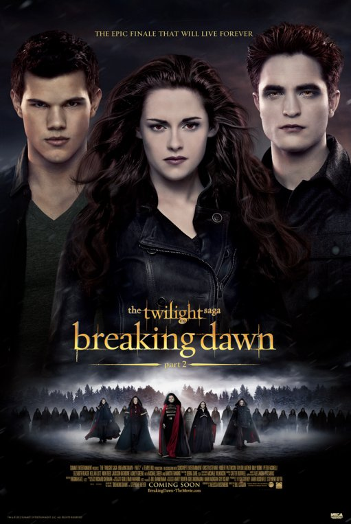 Framed The Twilight Saga: Breaking Dawn Part 2