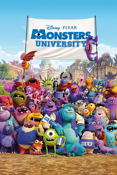Framed Monsters University