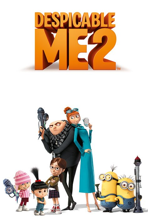 Framed Despicable Me 2