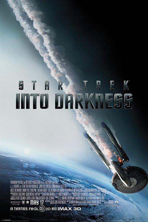 Framed Star Trek: Into Darkness