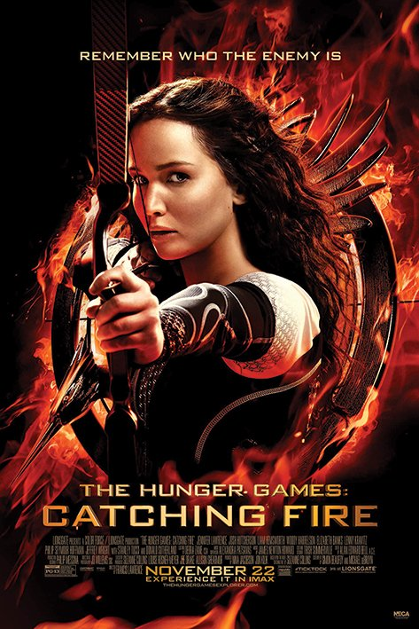 Framed The Hunger Games: Catching Fire