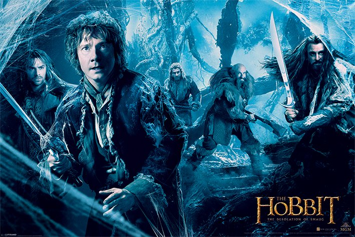 Framed The Hobbit: The Desolation of Smaug