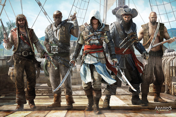 Framed Assassin's Creed IV: Black Flag