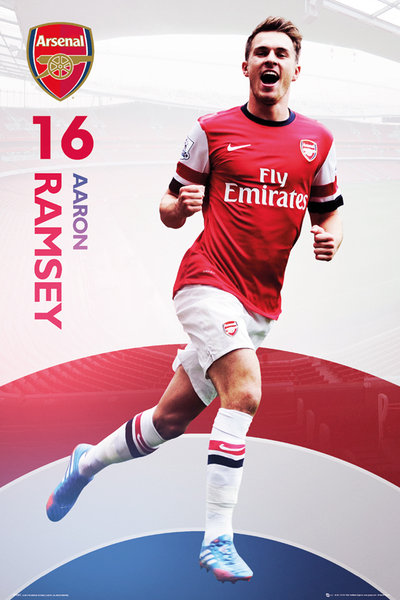 Framed Aaron Ramsey