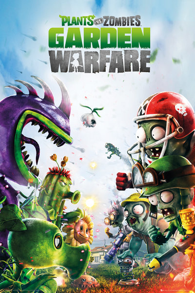 Framed Plants Vs. Zombies