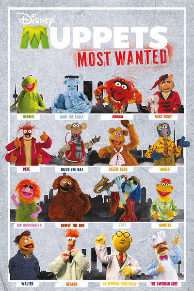 Framed The Muppets Most Wanted