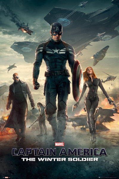 Framed Captain America 2: The Winter Soldier