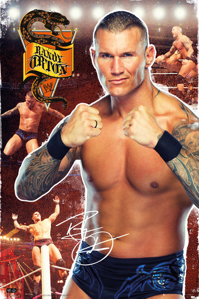 Framed Randy Orton