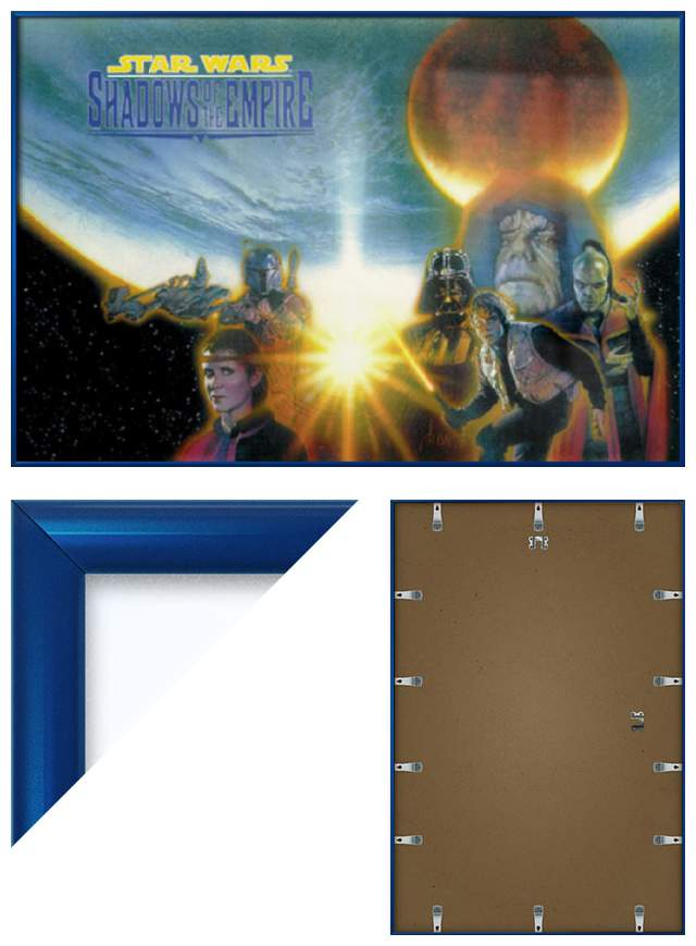 ... about STAR WARS: SHADOWS OF THE EMPIRE - FRAMED MOVIE POSTER / PRINT