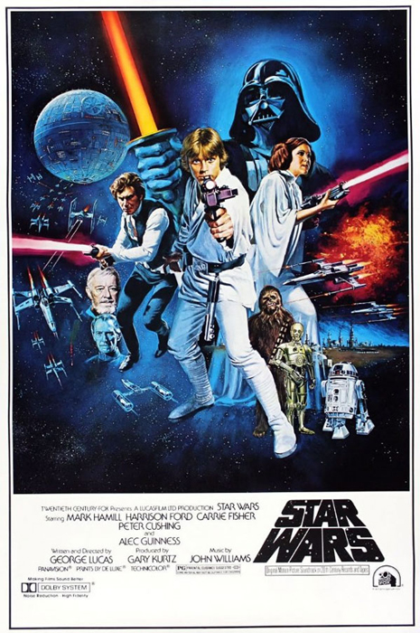 Framed Star Wars: Episode IV - A New Hope