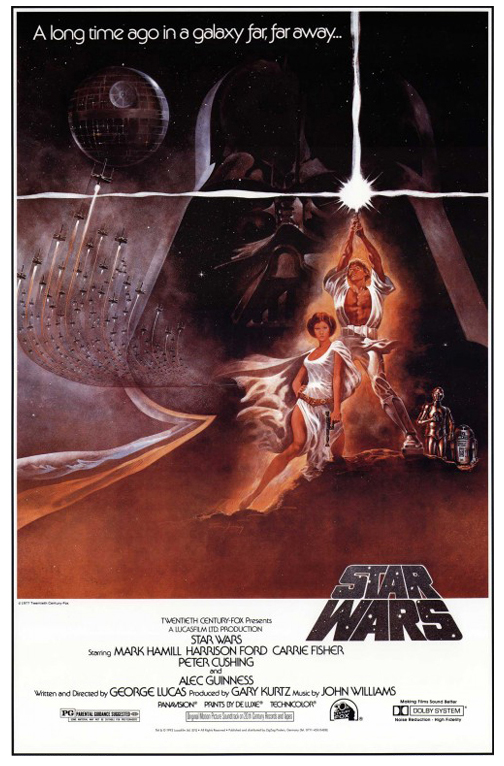 Star Wars: Episode IV - A New Hope framed poster