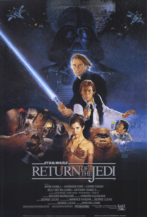 Star Wars: Episode VI - Return of the Jedi framed poster
