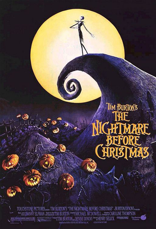 The Nightmare Before Christmas framed poster