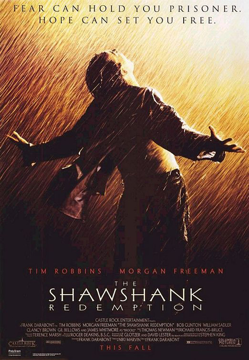 The Shawshank Redemption framed poster
