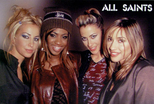 All SAINTS - Music Poster