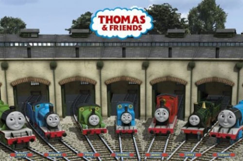 Thomas & Friends framed poster