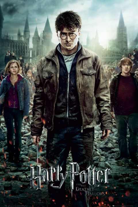 Harry Potter and the Deathly Hallows: Part 2 framed poster