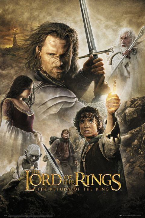 The Lord of the Rings: The Return of the King framed poster
