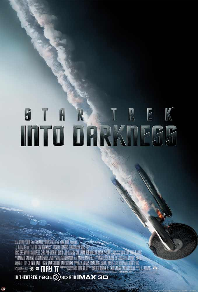 Star Trek: Into Darkness framed poster