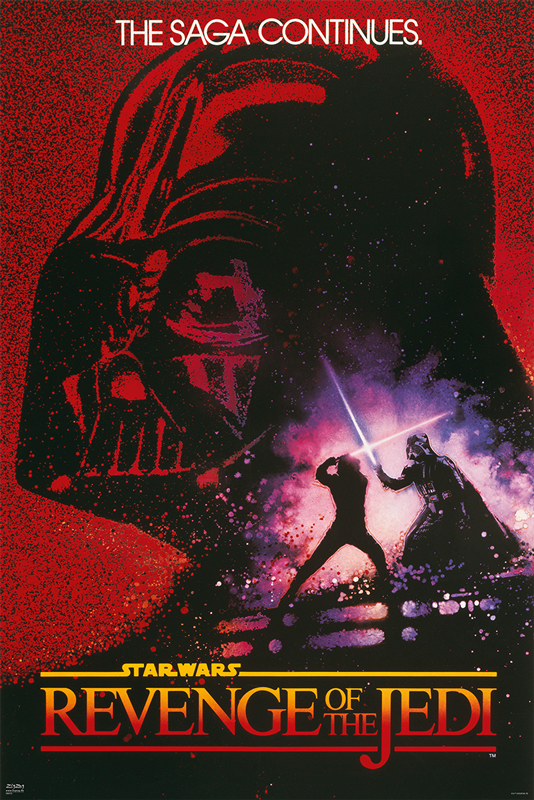 Star Wars: Episode VI - Revenge Of The Jedi framed poster