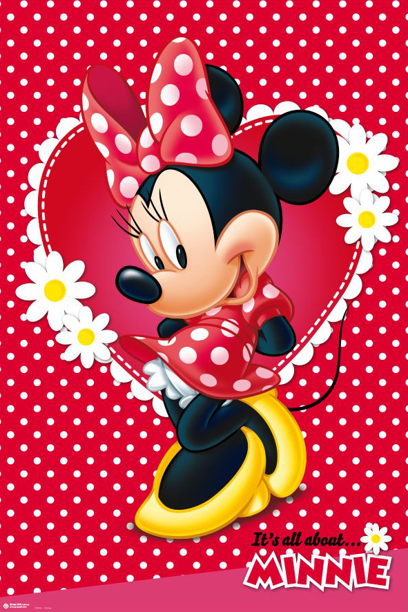 Minnie Mouse framed poster