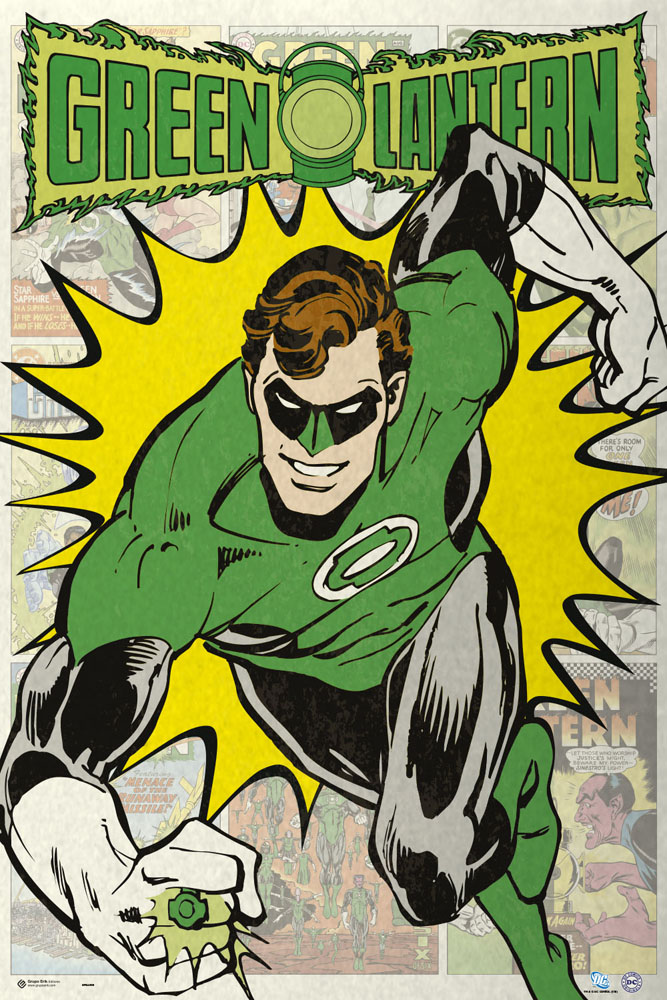 Framed Green Lantern