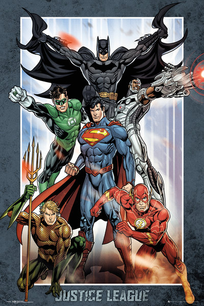 Framed Justice League Of America