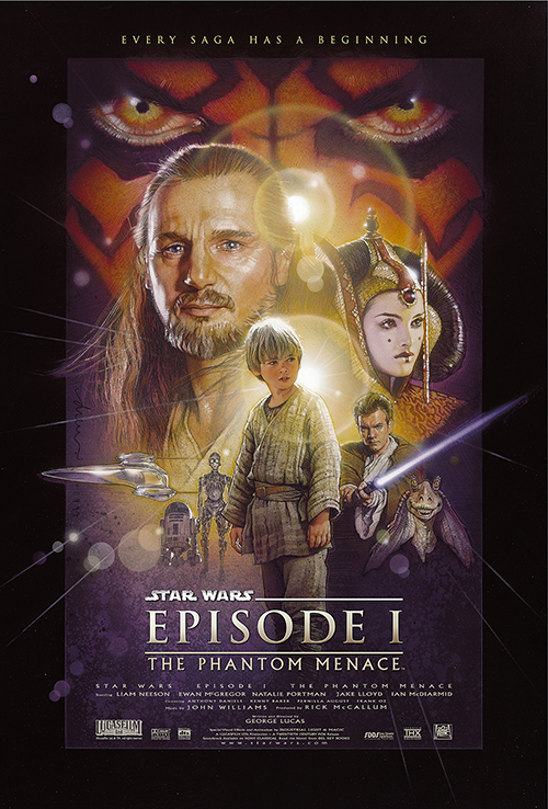 Framed Star Wars: Episode I - The Phantom Menace